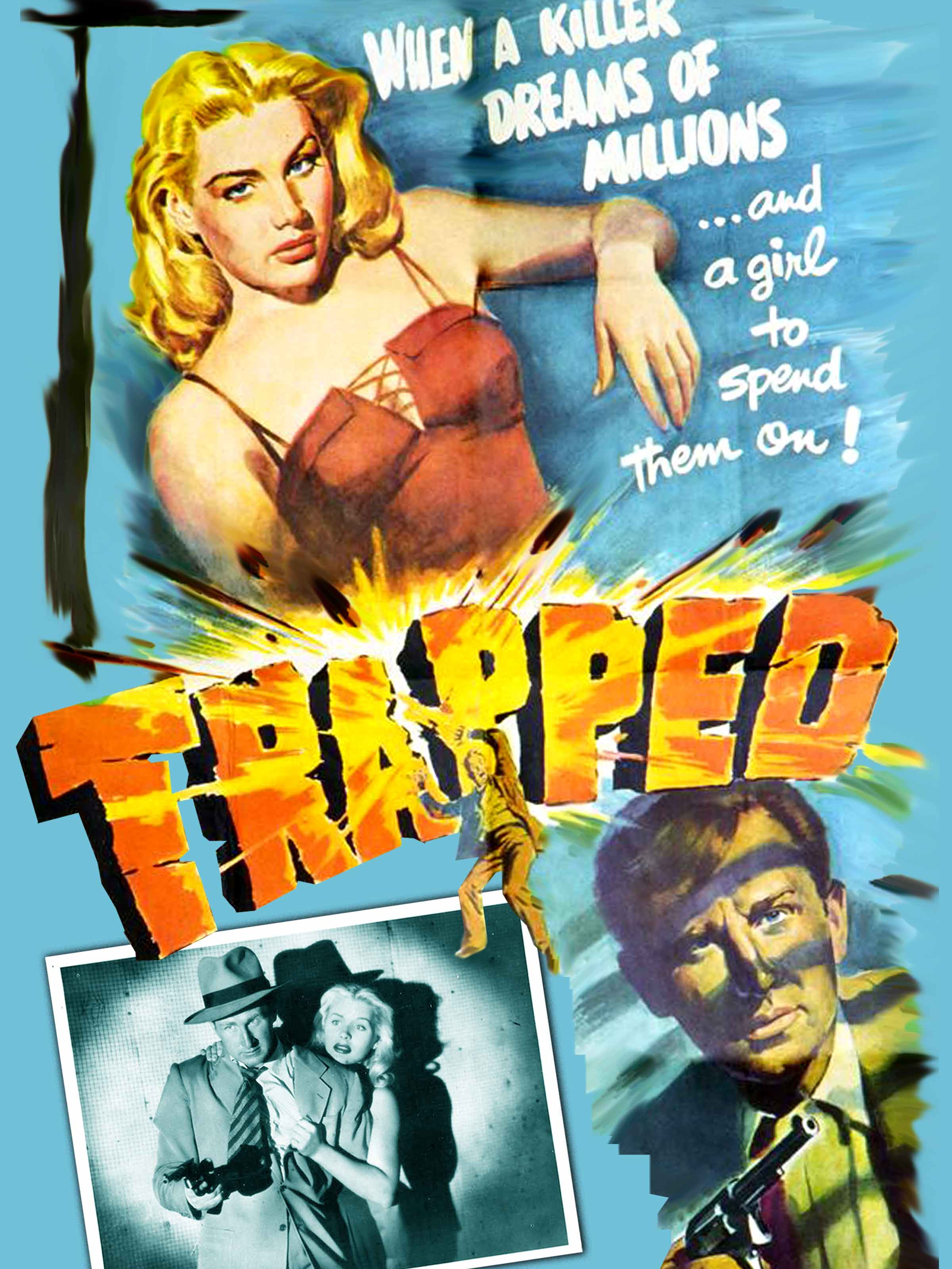 Image result for photos of barbara payton from 1949's trapped""