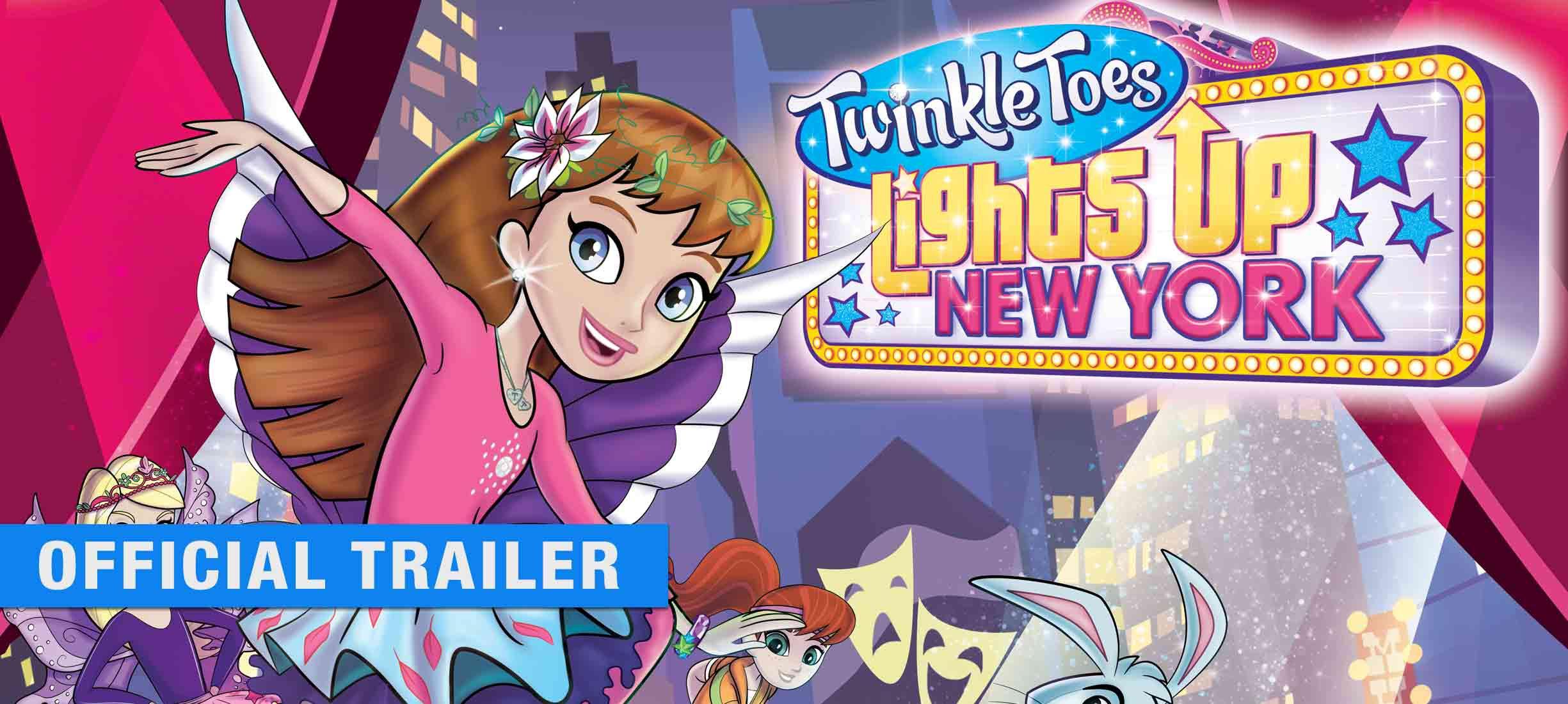 Twinkle Toes Lights Up New York: Trailer