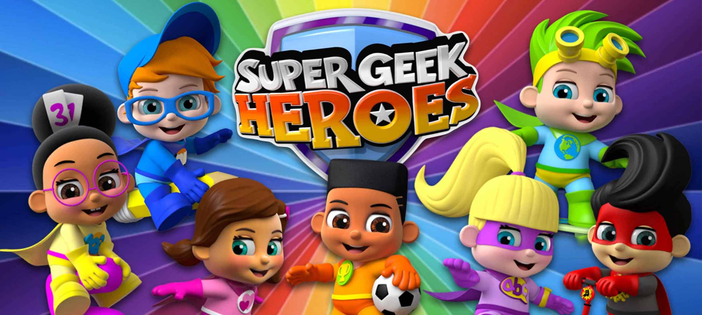 Super Geek Heroes: Trailer