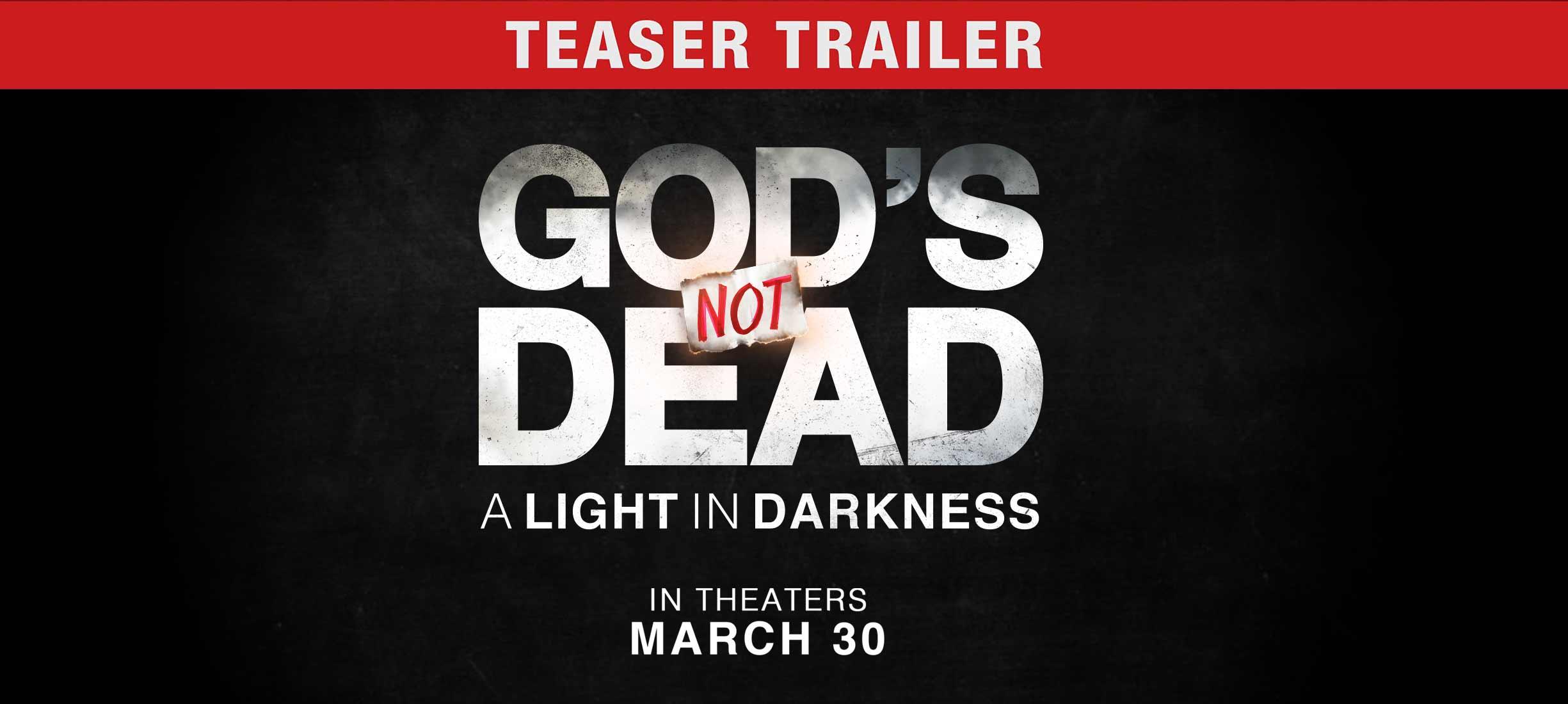 God's Not Dead: A Light in Darkness - Trailer