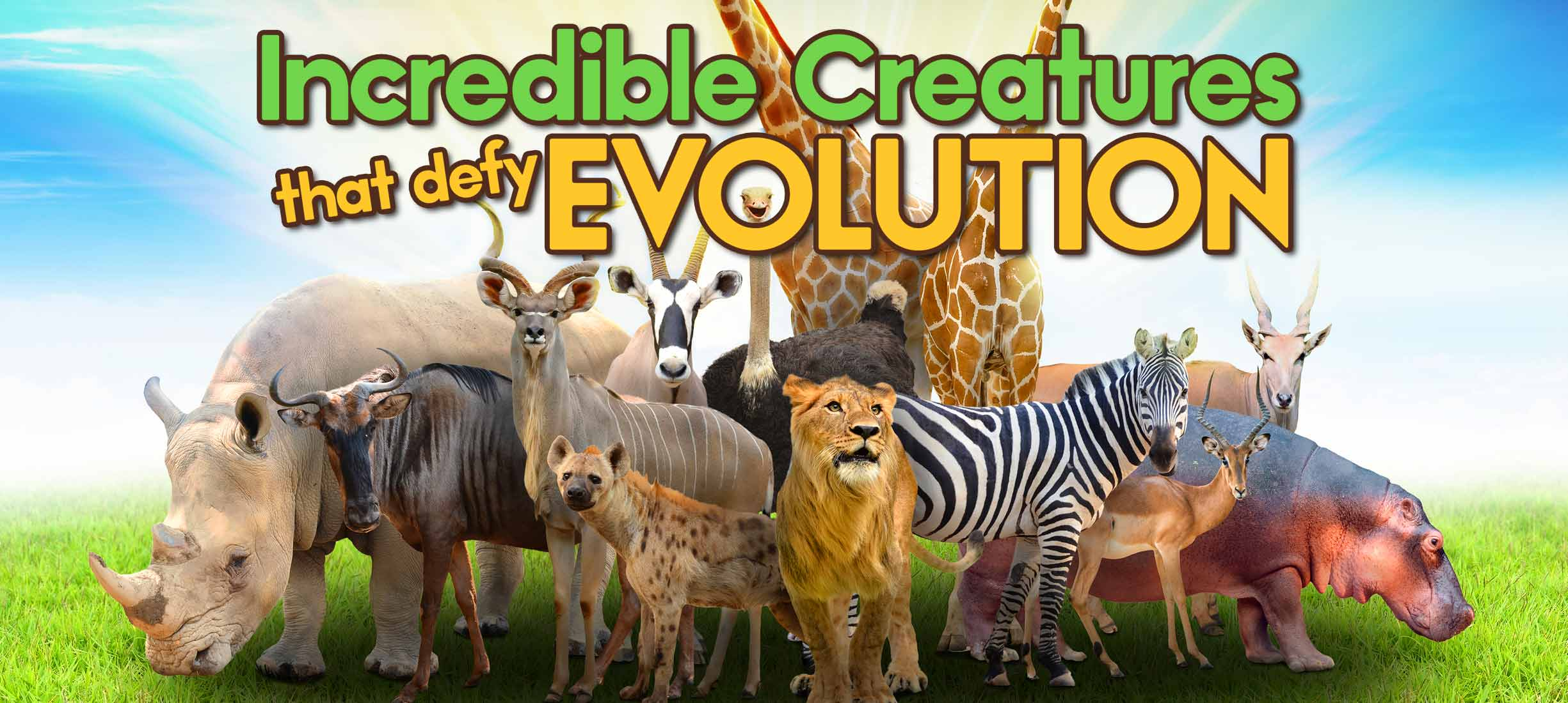 Incredible Creatures That Defy Evolution (Season 1)